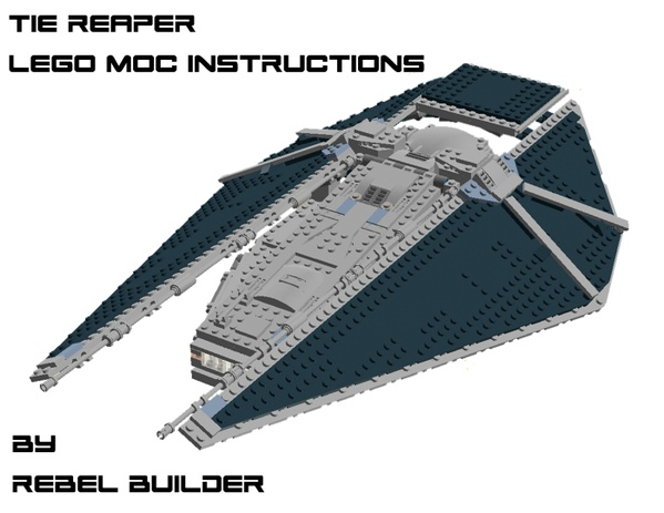 LEGO TIE Reaper MOC Instructions