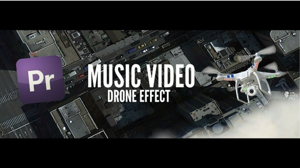 Music Video Effect  | Map/Fake Drone Footage Preset