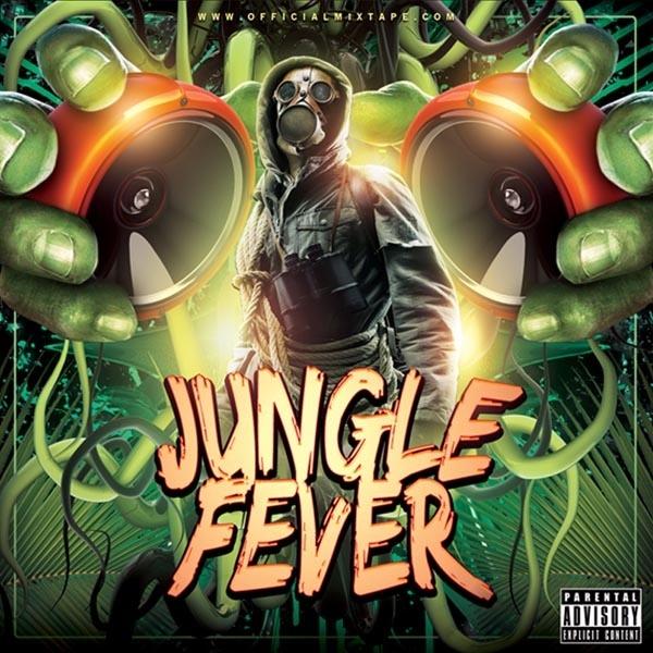 Jungle Fever Mixtape Cover Template PSD
