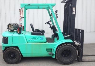 Mitsubishi Gasoline/LPG Forklift FG35, FG40 Workshop Service Manual