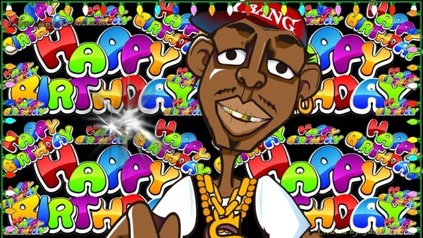 Hip hop Reggie sings Happy Birthday Wishes