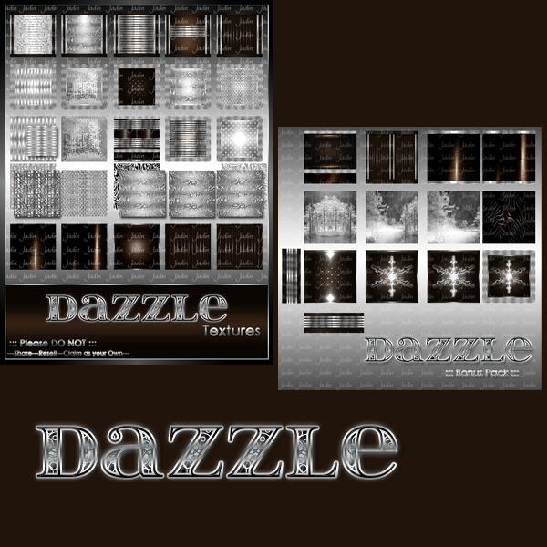 Dazzle Texture Pack-- $5.00