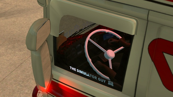 Animated Steering Wheel For Scania RJL - Not Tested On Other Vehicles