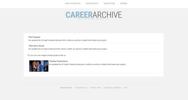 WPArchive: Career - Premade #1