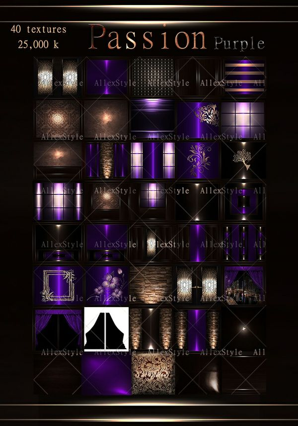 "IMVU TEXTURES FILE ""PASSION PURPLE"""