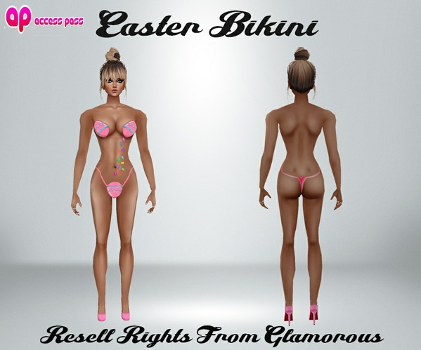 Easter Bikini AP Catty Only!!!