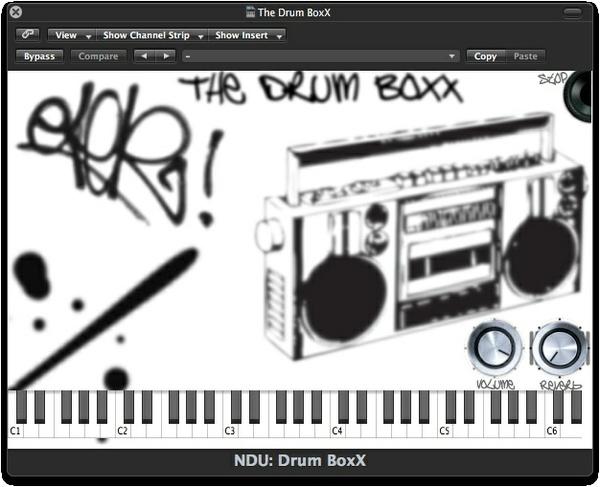 Nova Drum Unit: The Drum BoxX - Plug-In and Wav