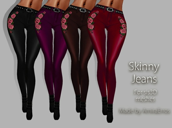 SKINNY JEANS TEXTURES