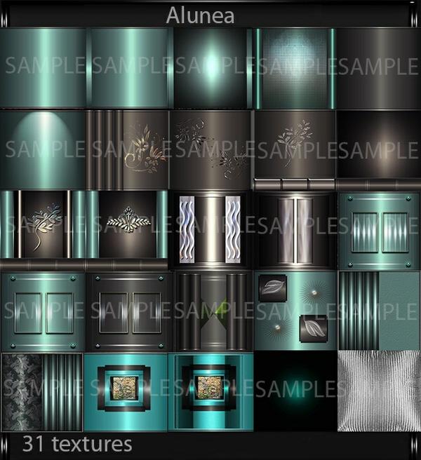 Alunea (31 textures PNG)