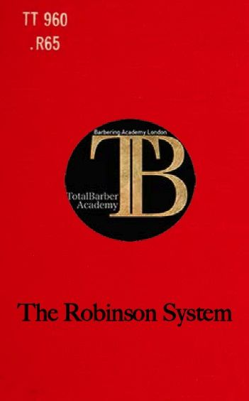 The Robinson System - TotalBarber Vintage Books