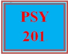 PSY 201 Week 9 Knowledge Check