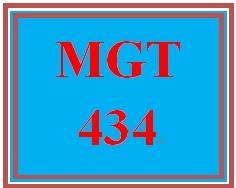 MGT 434 Week 5 Union Organizing Case Study