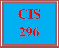 CIS 296 Week 4 Individual Troubleshooting Operating Systems