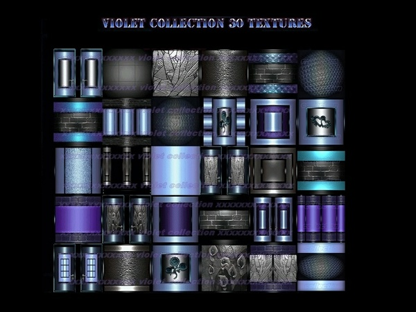 violet collection 30 textures