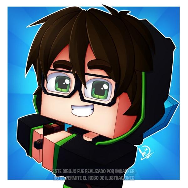 Minecraft Profile Pose