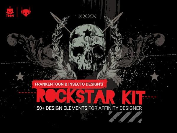 Rockstar Design Kit for Affinity Designer