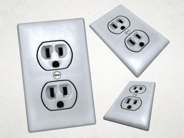 Electrical Outlet 2 - 3D Model