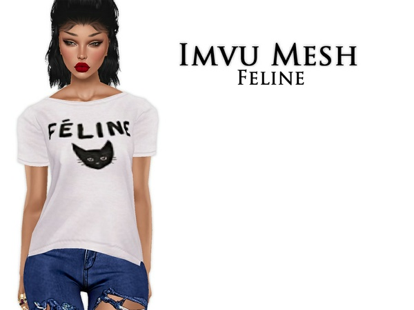 IMVU Mesh - Tops - Feline