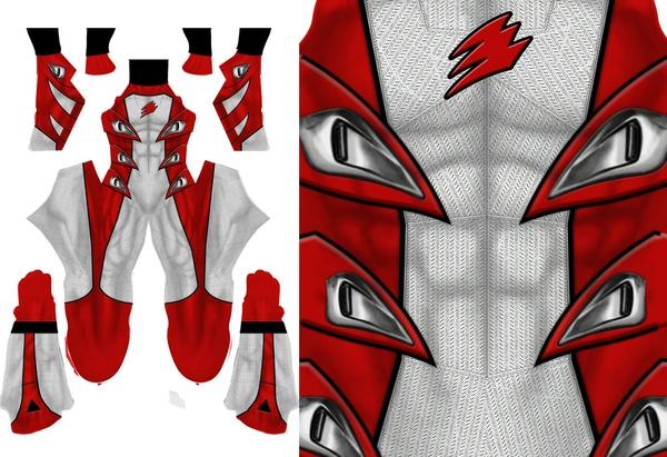 JUNGLE FURY RED SUPER MODE pattern file