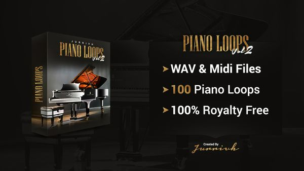 Jurrivh - Piano Loops Vol.2