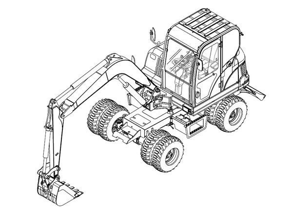Bobcat E55W, E60, E80 Excavator Electronic Control System Manual