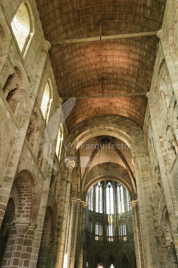 Church on Mont Saint Michel