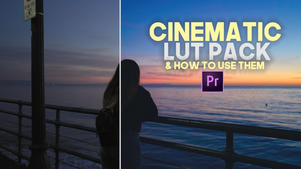 CINEMATIC LUT PACK - 8 LUTS