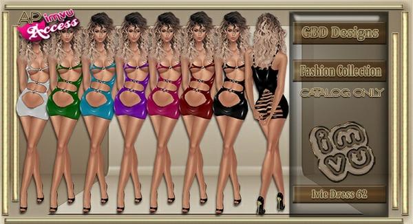 Ivie Dress 62 CATALOG ONLY