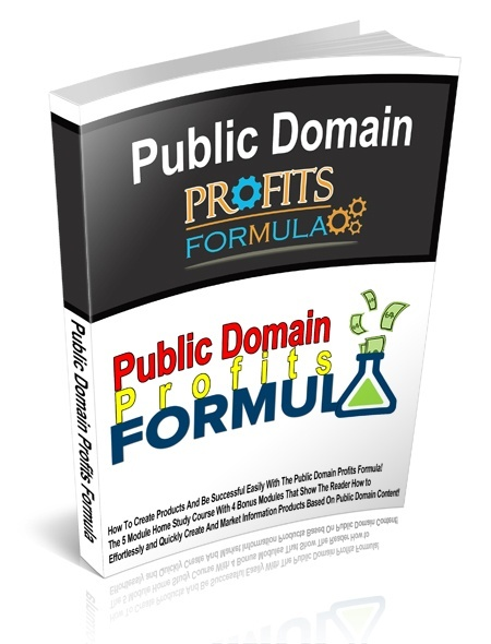 Public Domain Profits Formula - MRR