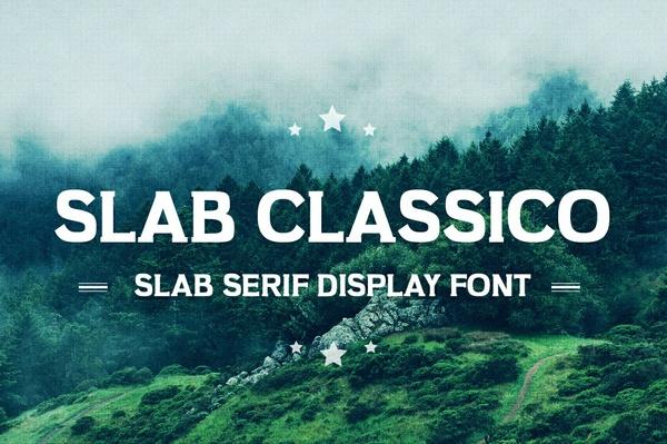 Slab Classico - Vintage Serif Slab