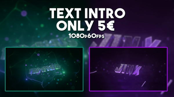 TEXT INTRO // 1080p60fps - 5 €