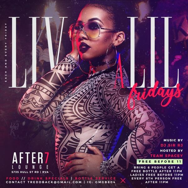 Liv A Lil Fridays