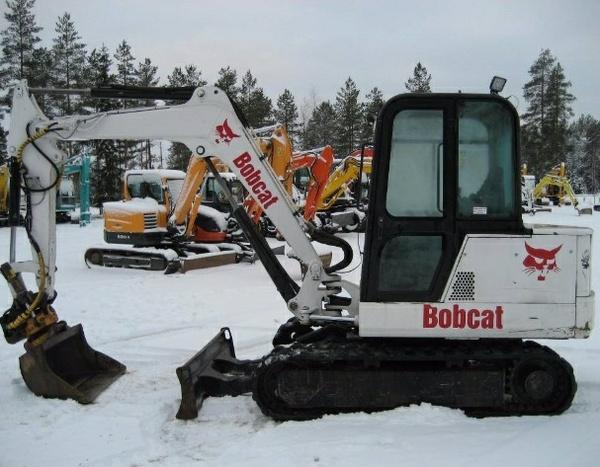 Bobcat X337, X341 Compact Excavator Service Repair Manual (S/N 515411001 , 230611001 & Above)