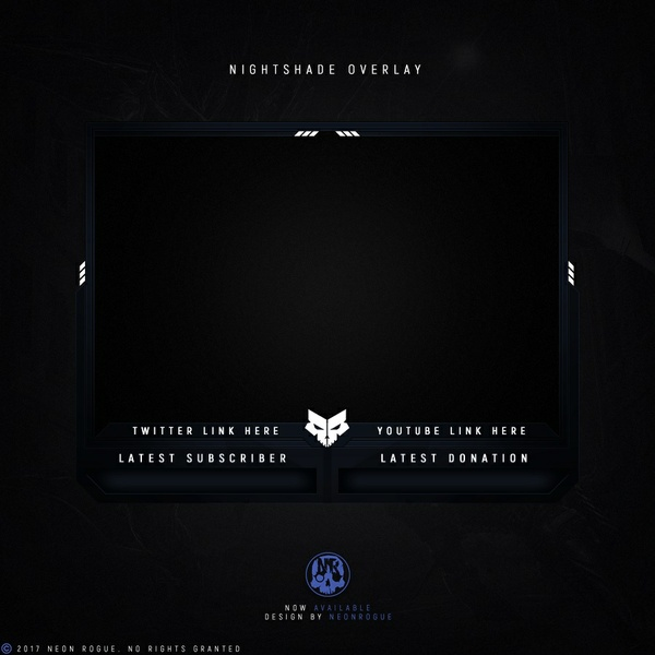 Nightshade webcam overlay.