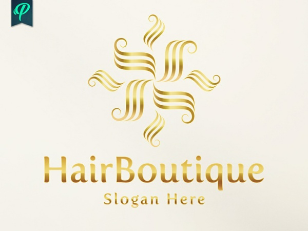 HairBoutique - Elegant Logo Template