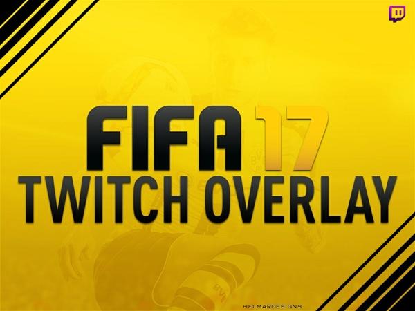 FIFA 17 Twitch Overlay (Customisable)