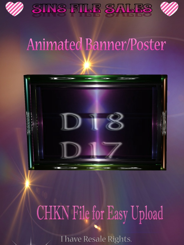 Animated Poster/Banner Mesh