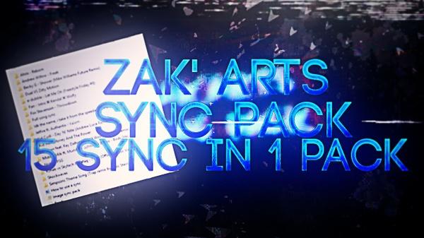 Zak'Arts Sync Pack