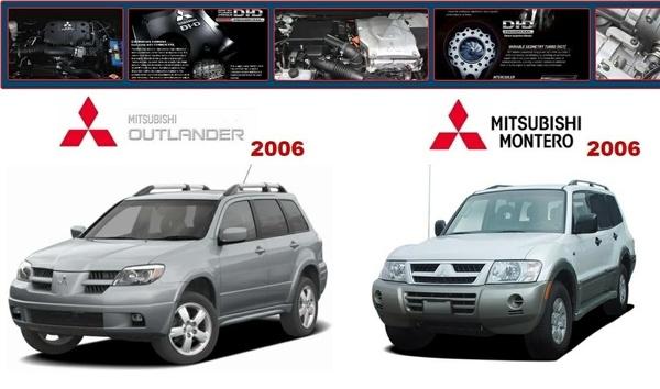 Mitsubishi Outlander 2006 & Montero 2006 Factory Service Manual