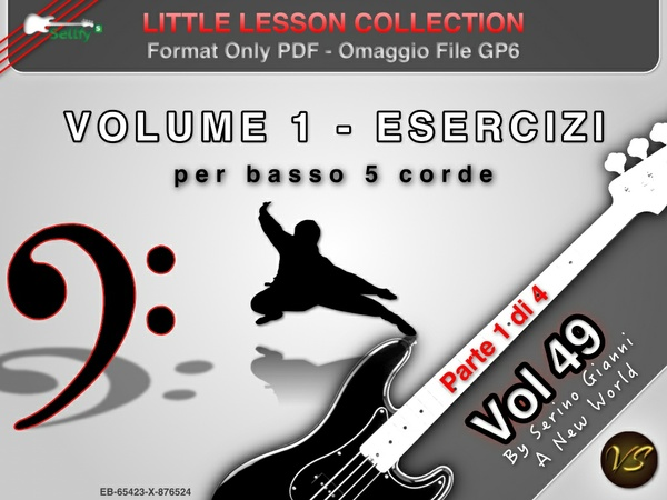 LITTLE LESSON VOL 49 - Format Pdf (in omaggio file Gp6)