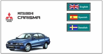 Mitsubishi Carisma Factory Service Manual