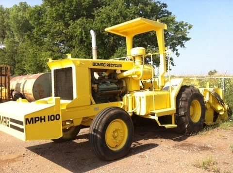 BOMAG MPH100R / MPH100S RECYCLER AND STABILIZER OPERATION & MAINTENANCE MANUAL