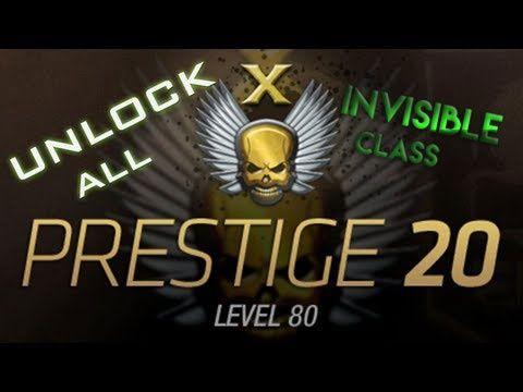 ♛ MW3 ☛ Unlock All + Master Prestigio + Invisible Class + Editable stats 8 $ ♛