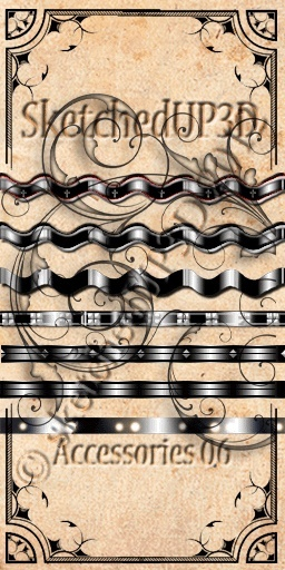 Accessories 06 - Belt Texture Bundle