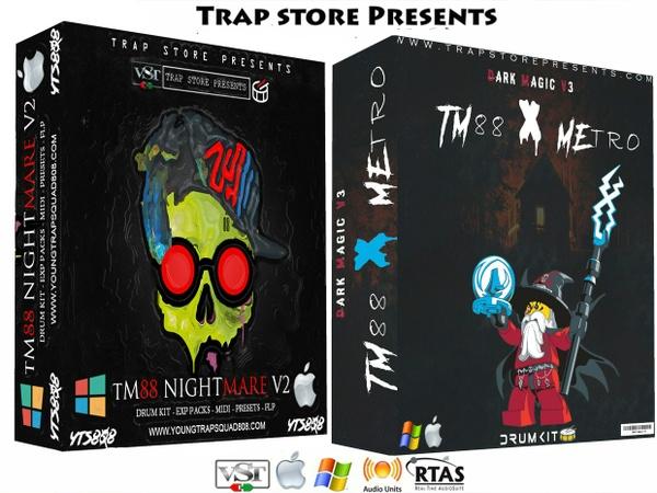 Trap Store Presents - TM88 Nightmare V2 & Dark Magic V3