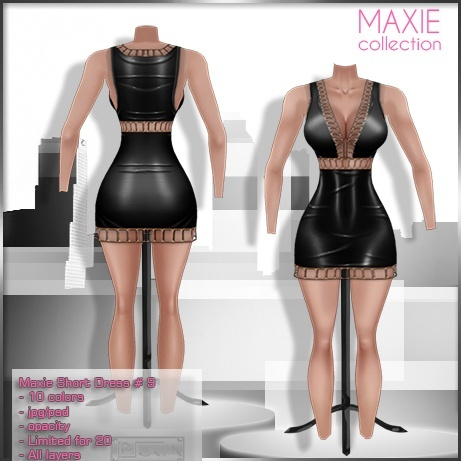 2014 Maxie Short Dress # 9