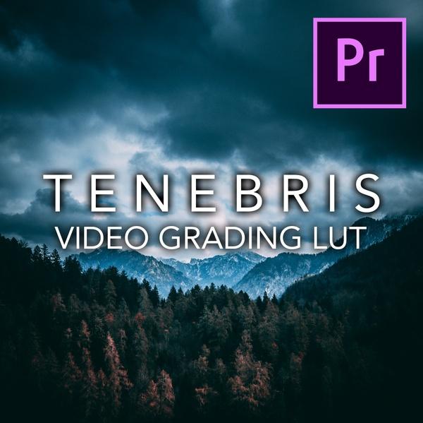 TENEBRIS Grading LUT for Video