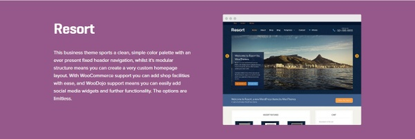 WooCommerce Resort 1.1.10 Theme WordPress