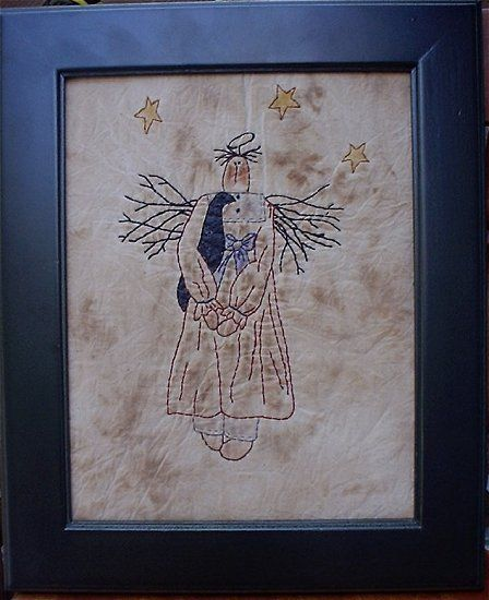 #332 Primitive Angel E Pattern