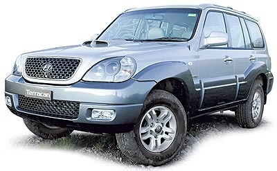 2005 Hyundai Terracan Factory Service Manual